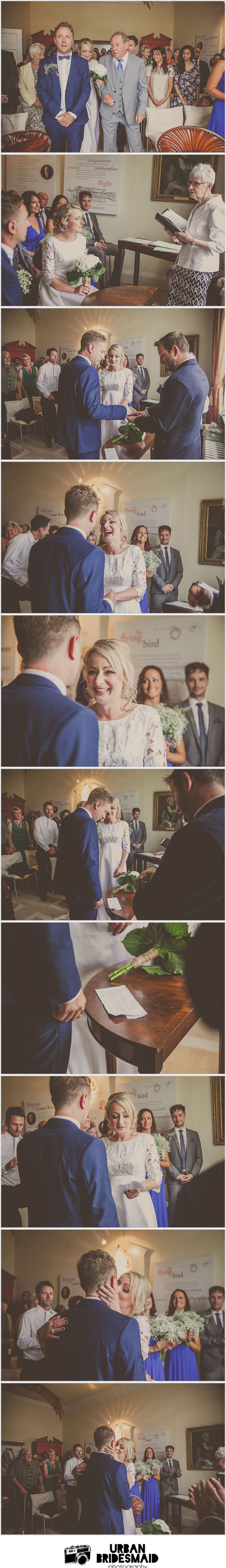 Erasmus darwin house wedding