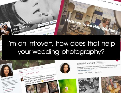 I'm an introvert, how does that help your wedding photography?